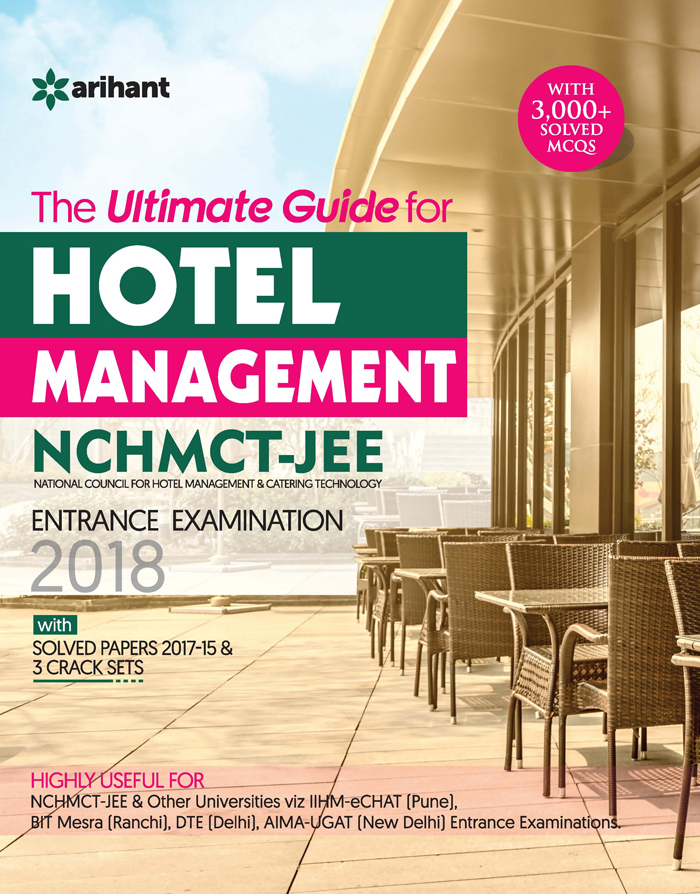 Books :: Ultimate Guide For Hotel Management NCHMCT-JEE Entrance
