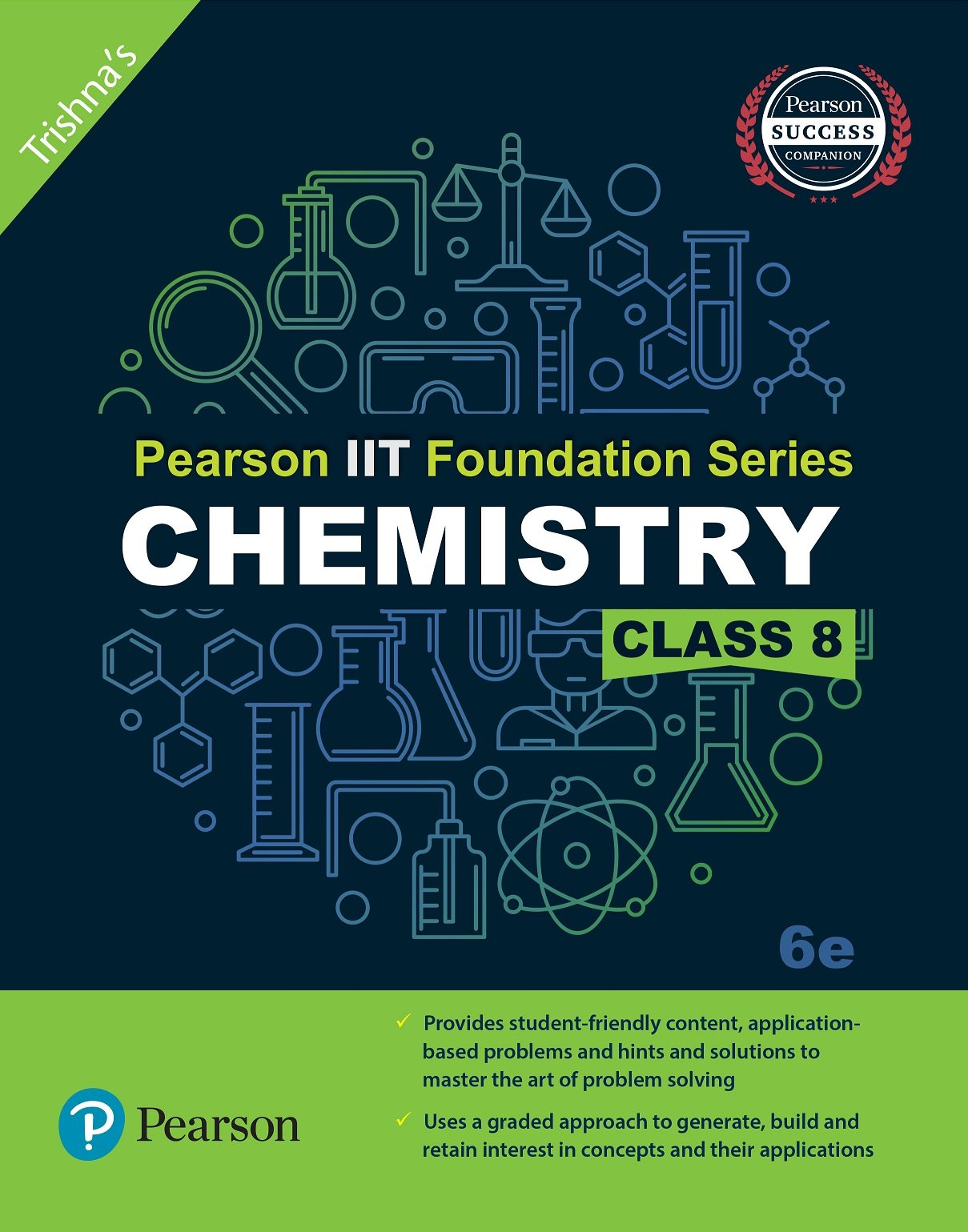 Books :: Pearson IIT Foundation Series Chemistry Class 8