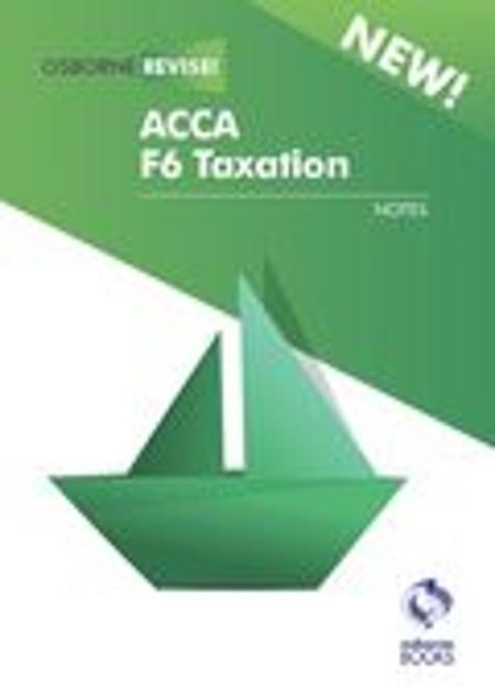 Books :: ACCA F6 Taxation, Notes