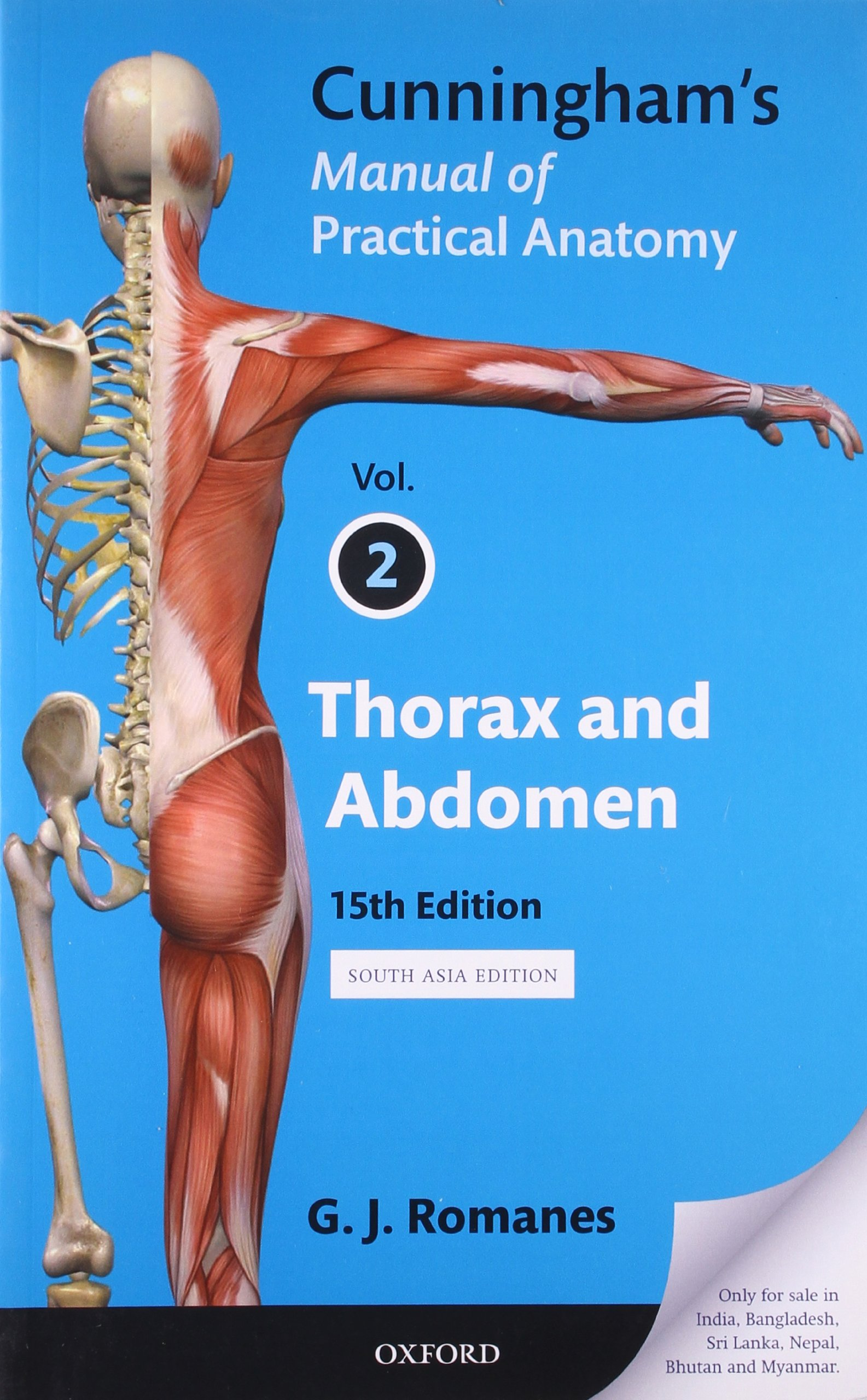 Books Cunninghams Manual Of Practical Anatomy Vol 2 Thorax